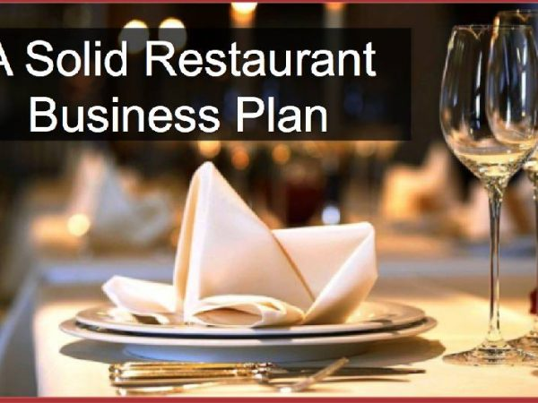 How to create a successful business plan to start a restaurant effectively?